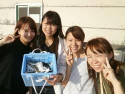 大阪南港海釣り公園 アジ好調
