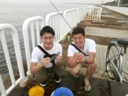 大阪南港海釣り公園 アジ、サバ、サッパ