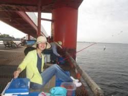 尼崎海釣公園 サビキのアジ・サバ好調