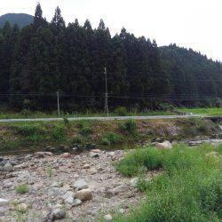 友釣り 越知川