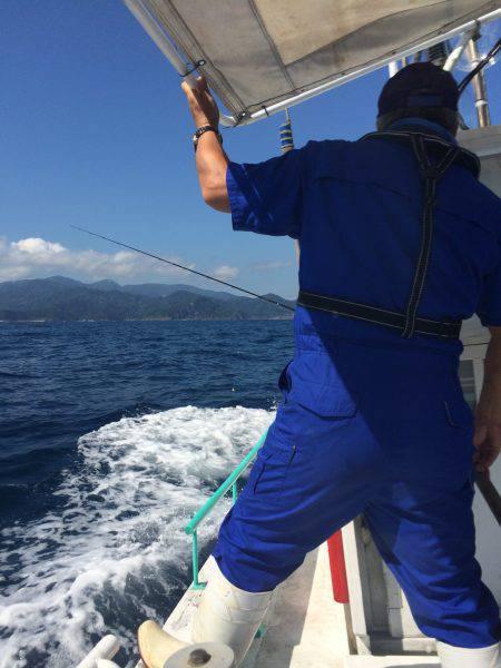 今シーズン初の船釣り