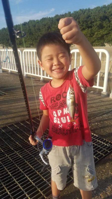南港魚釣公園にてファミリーフィッシング