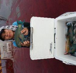 本部釣りイカダ 釣果