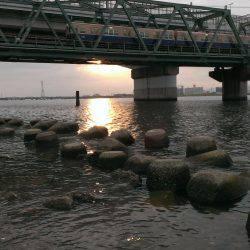 武庫川も淀川も