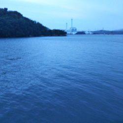 大潟岸壁テンヤでタチウオ&サゴシ