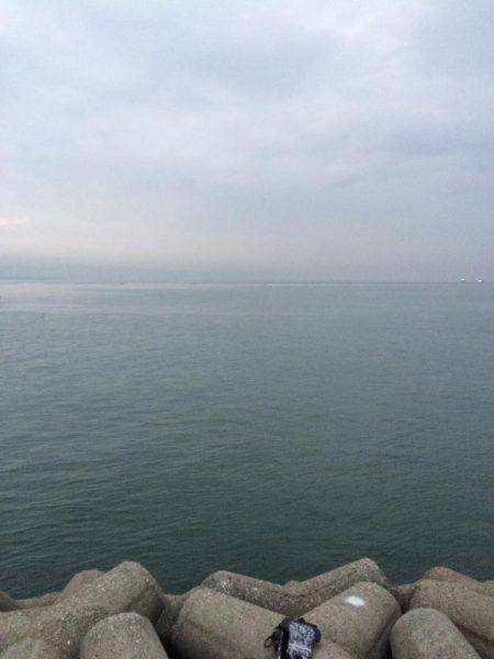 東二見人口島へ朝マヅメ釣行