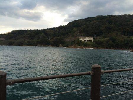 香住東港で堤防カワハギ釣り