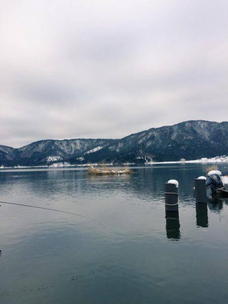 余呉湖 ワカサギ釣れてます♪