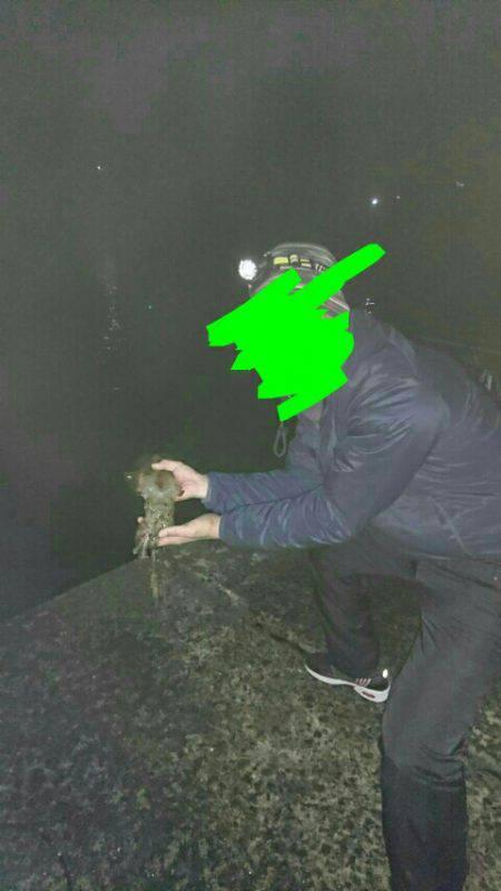 聖地は寒くても釣れる!