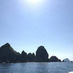 沖ノ島磯フカセ釣り