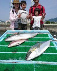 和歌山マリーナシティ釣り堀 釣果