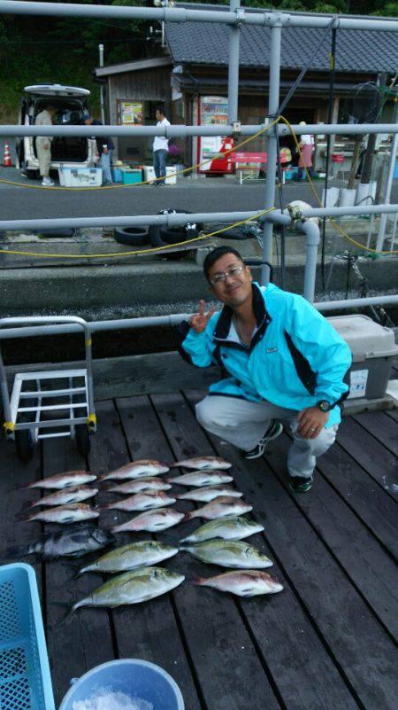 海上釣堀フィッシングレインボー 釣果