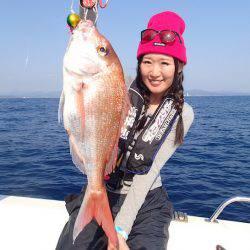 南紀の釣り旅で鯛ラバ♪【高橋恵chanの連載記事♡vol.7】