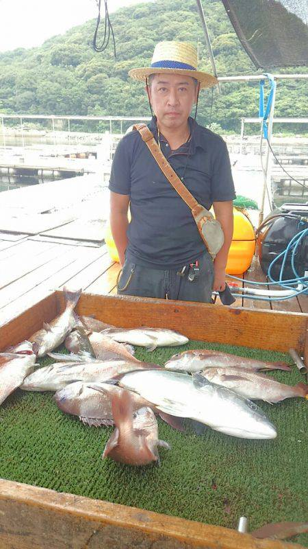 海の釣堀 海恵 釣果