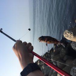 春の穴釣り