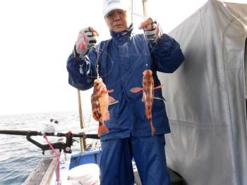 鯛紅丸 釣果