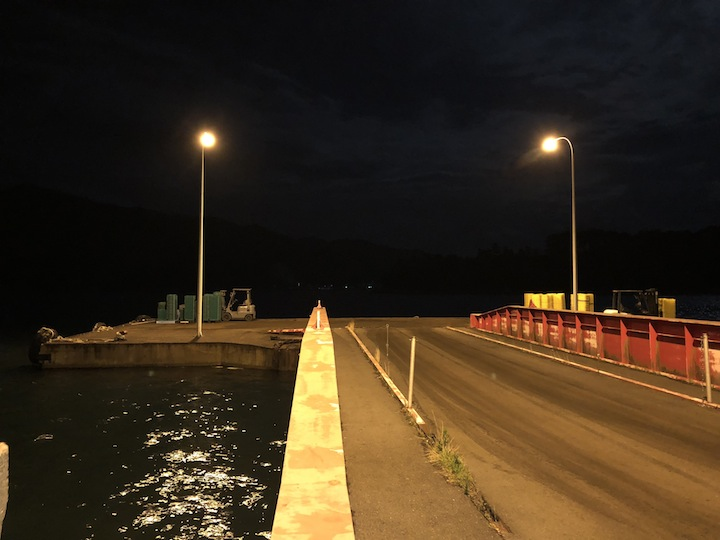 下蒲刈島アジング&メバリング常夜灯の明暗を狙う