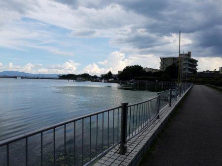 今日は琵琶湖へ