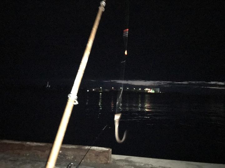 夕方スタートの涼しいアナゴ釣り