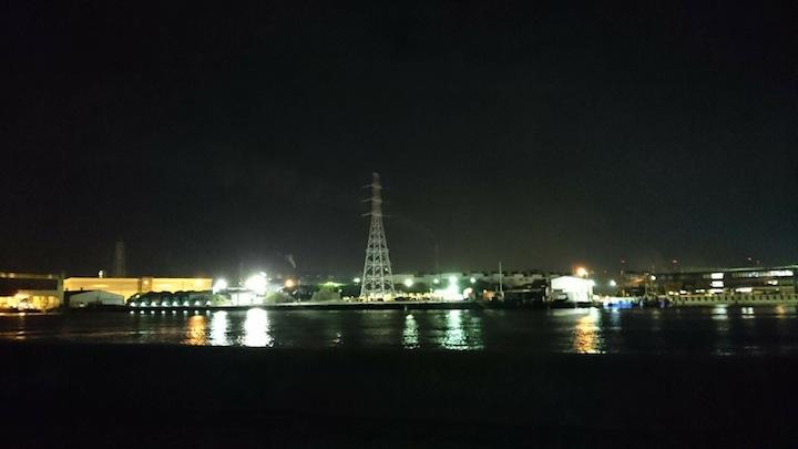 東京湾奥シーバス釣行