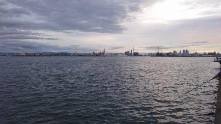 台風直前タチウオ釣行