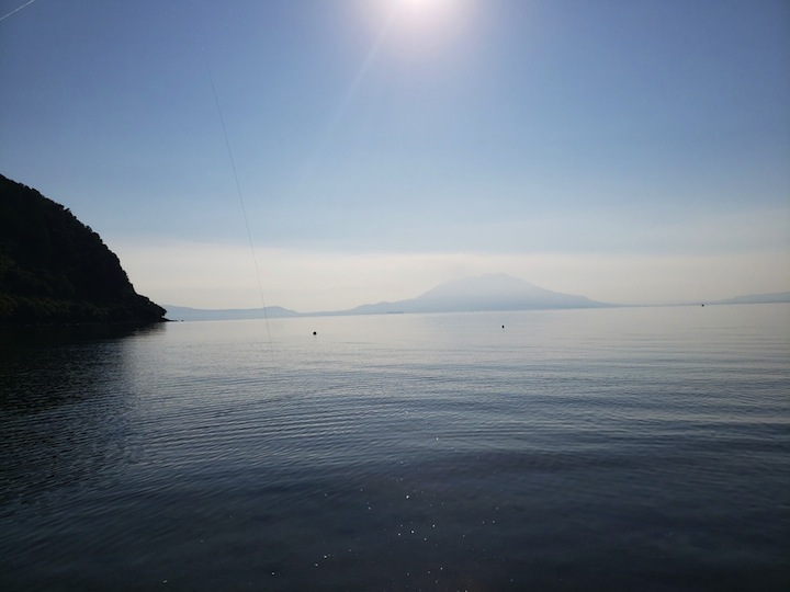 鹿児島県 秋晴れの穏やかなサーフへ釣行してリフレッシュ