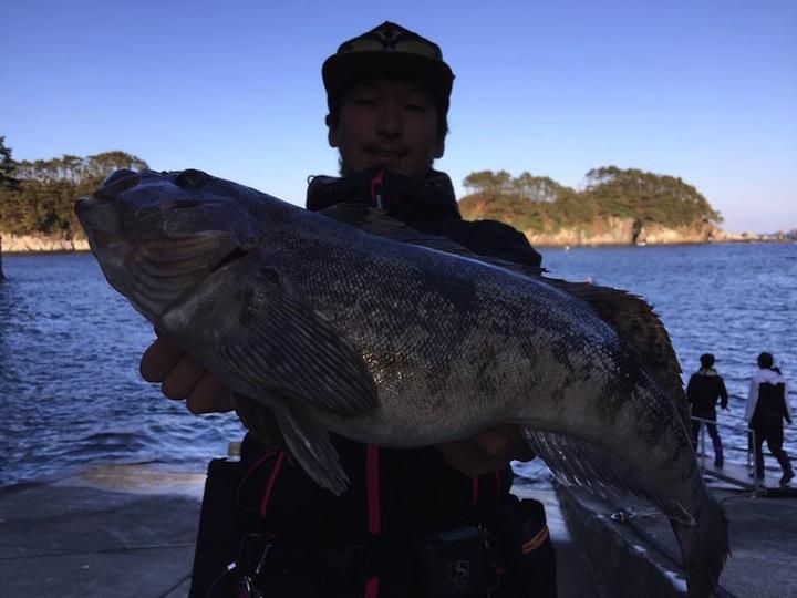岩手県釣り場紹介『浄土ヶ浜』手漕ぎボートフィッシング