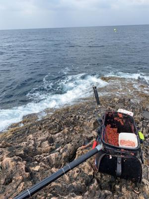 五島 沖磯 フカセ釣り