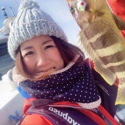 福井県小浜雲丸 ハヤブサのジグやテンヤ使用で、シーバス狙いの「白身三昧便」
