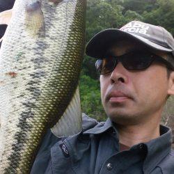 昼まで釣行