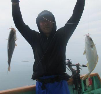 イサキ釣り