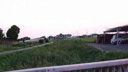 夕まずめのナマズ釣り