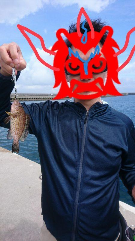 旅先で湾内短時間釣行