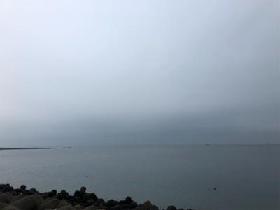 今季初湾奥ブルー