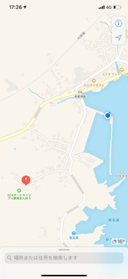 松部港 アジサビキ釣り