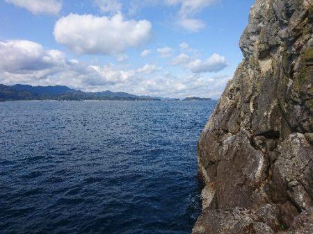 勝浦山成でグレ釣り