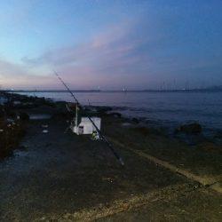 苅屋海岸のキス釣り