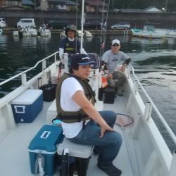ボートでタイラバ&キス
