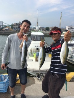 浜栄丸 釣果