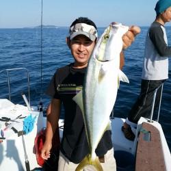 田曽沖40m~贄湾沖100m釣果報告(マイボート釣行)