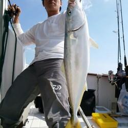 田曽沖40~贄湾沖150m釣果報告(マイボート釣行)