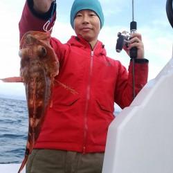 田曽沖80m釣果報告(マイボート釣行)