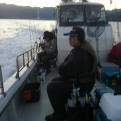 今年のラスト釣行イカメタル