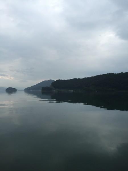 雨の中マイボートでタイラバ釣行